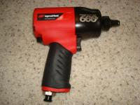 This Ingersoll Rand composite air impact wrench uses
