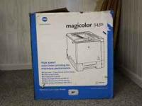 list price $1900 Konica Minolta Magicolor 5450 high