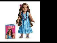 American Girl doll-Kanani. NEW IN BOX with book. She is