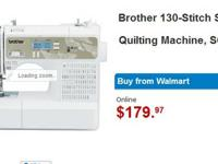 Brother 130-Stitch Sewing and Quilting Machine, SQ9185