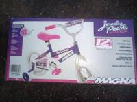 Jewels & Pearls bicycle by Magna. This pink and purple