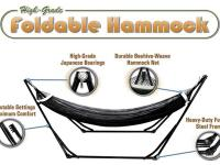 New in Box High-Grade Foldable Hammock Folding Hammock