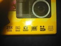 Kodak pix pro astro zoom (25x zoom) camera in box with