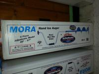 FOR SALE:.  NEW IN BOX.  MORA HANDHELD ICE AUGERS.  5 &