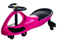 New in box pink Lil' Rider Wiggle Ride-On car.