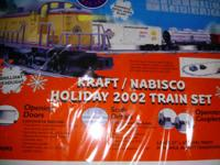 Brand new, (2002) Model 6-31950 Lionel Nabisco Holiday