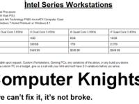 Intel Series Workstations. Intel Processor. 500 Watt