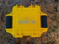 New in original package Invicta Pro Diver 18 ct. Gold