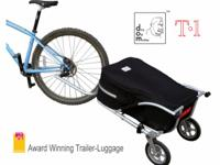 Description Multi-function bicycle trailer. Built for
