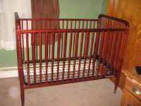 I purchased this crib less than a year ago. Only used a