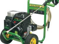 - - JOHN DEERE PRESSURE WASHER - - - SPECIFICATIONS - -