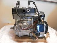 New Kawasaki watercooled engine 339 cc, total weight of