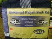 Universal Kayak Rack Kit 2 Kayak non skid blocks 2