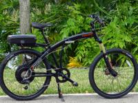 High-quality tandem bike with a durable cruiser-style