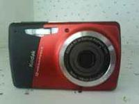 easy share kodak cam/vid with charger and 4mg card all