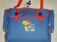 This is a Univeristy of Kansas Stadium Seat with