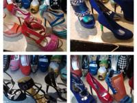 NEW LADIES WHOLESALE SHOE INVENTORY OVER 150 PAIRS yes
