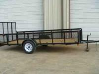 NEW Landscape trailer / 6feet by 14feet by2inside with