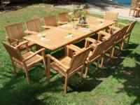 Featuring our new beautiful 12 seat- LACOVIA TEAK