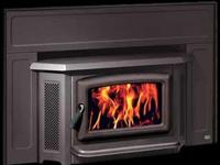 NEW WOOD FIREPLACE INSERT SALE (used as a non-burning