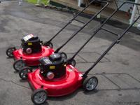 I HAVE TWO NEW MURRAY PUSH MOWERS: ECONOMICALLY