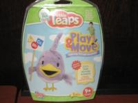NEW Leap Frog Little Leaps Software Play and Move Game.