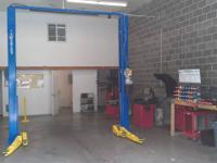 New licensed car repair work shop. Brake Pro. Located