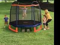 NEW LITTLE TIKES TRAMPOLINE RETAILS 229.99 •Age