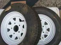 These are 530-12, 5 hole, load range B, trailer tires.