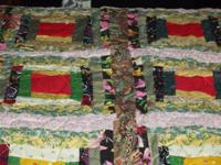 NEW Log Cabin Quilt for sale that is a great size and