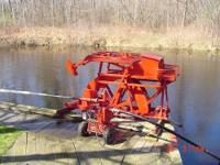 PUMP WAS USED FOR RUNNING SPRINKLER SYS., WATER WHEEL,