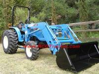 For sale is a new LS G3033 Tractor and LS front loader.