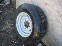 One New Firestone Steeltex Radial. Size LT225/75R16. Is