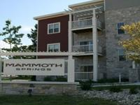 Mammoth Springs Apartment has 1 & 2 Bedroom apartments