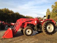 Brand new 2011 Mahindra 5525 tractor has a 55 HP 3