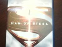 Brand New,never played Man of Steel- Blu Ray dvd