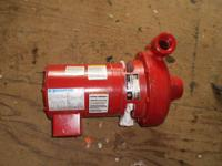 NEW MARATHON ELECTRIC bell gossett pump motor M301 25AC