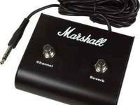 New never used Marshall P802 Footswitch for sale. For