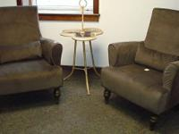 NEW - dark brown chairs - $285.00 each - currently have