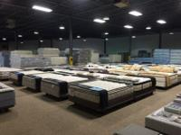 HUGE FACTORY DIRECT MATTRESS WAREHOUSE, WITH PRICES UP