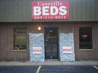 CASSVILLE BEDS 393 BACON ST. OSHKOSH WI 54901  ON THE