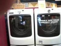 Free delivery & set up.  Brand new Maytag front load