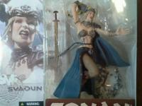 Four New-Sealed McFarlane 2004 Conan The Barbarian