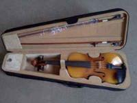 For sale is a brand new mendini violin, in excellent