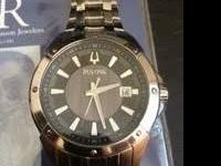 This is a new mens Bulova Watch in the Wintermoor