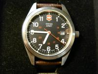 I received this promotional item Swiss Army watch #