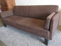 NEW DHP 3201398 - City Futon - Chocolate Brown