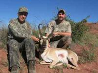 Arrowhead Outfitters If you want to hunt antelope this