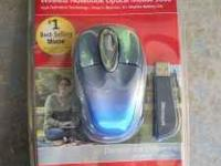 New Microsoft Wireless Optical Mouse 3000 Call,Text Or