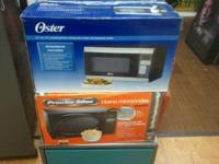 New microwaves $40 and $50 many to choose from